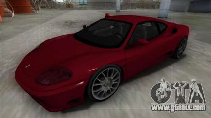 Ferrari 360 Modena FBI for GTA San Andreas