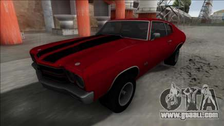 1970 Chevrolet Chevelle SS for GTA San Andreas