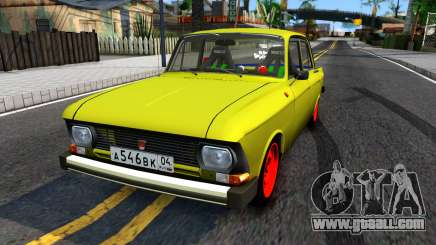 """Moskvich 412 """"Combat Classics"""" for GTA San Andreas"""