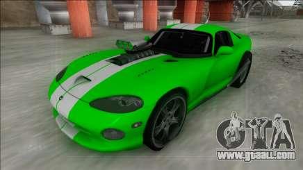 Dodge Viper GTS Drag for GTA San Andreas