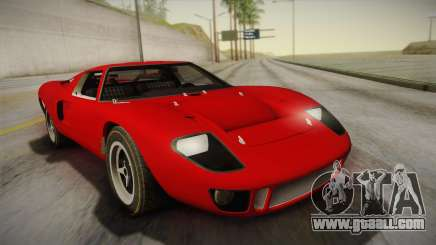 Ford GT40 TwinTurbo for GTA San Andreas
