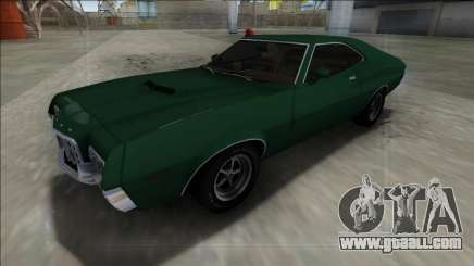 1972 Ford Gran Torino FBI for GTA San Andreas