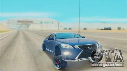 LEXUS GS 450 for GTA San Andreas