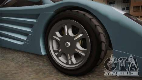 GTA 5 Progen GP1 IVF for GTA San Andreas back view