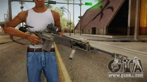 Battlefield 4 - M39 EMR for GTA San Andreas third screenshot