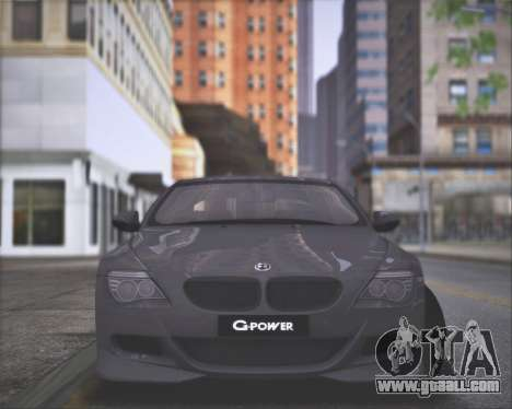 BMW M6 G-Power Hurricane RR for GTA San Andreas right view