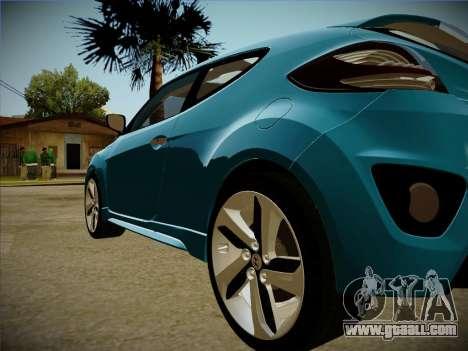 Hyundai i30 3-door hatchback 2013 for GTA San Andreas inner view