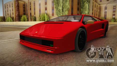 GTA 5 Pegassi Infernus Classic Coupe for GTA San Andreas right view