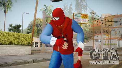 Spider-Man Homecoming - Home Costume (Fan Made) for GTA San Andreas