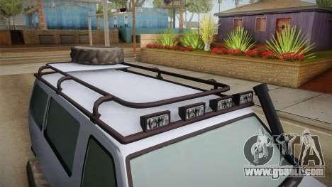 GTA 5 Bravado Rumpo Custom for GTA San Andreas side view
