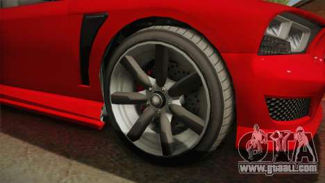 GTA 5 Bravado Buffalo 2-doors Coupe IVF for GTA San Andreas back view