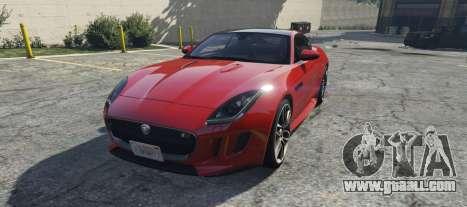 Jaguar F-Type R&SVR for GTA 5