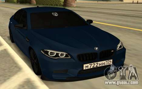 BMW F10 for GTA San Andreas