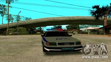 Audi 100 C4 Police for GTA San Andreas