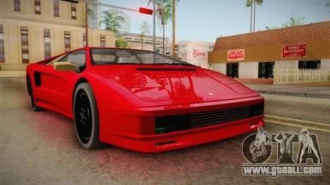 GTA 5 Pegassi Infernus Classic Coupe for GTA San Andreas