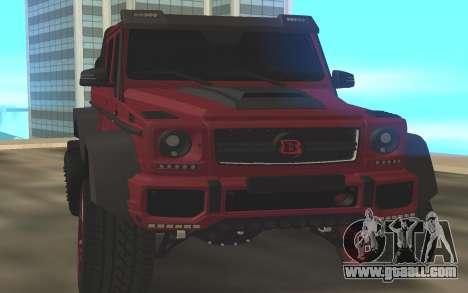BRABUS G6x6 for GTA San Andreas