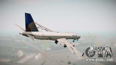 Boeing 757-200 United Airlines for GTA San Andreas left view