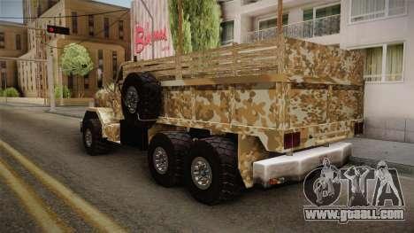 New Barracks for GTA San Andreas left view