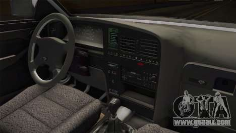 Opel Omega A Kombi for GTA San Andreas inner view