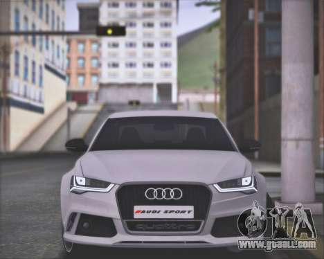 Audi RS6 2016 for GTA San Andreas right view