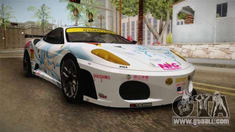 Ferrari F430GT 2010 27 Pacific Racing for GTA San Andreas right view