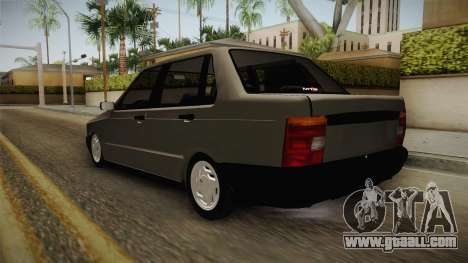 Fiat Duna for GTA San Andreas back left view