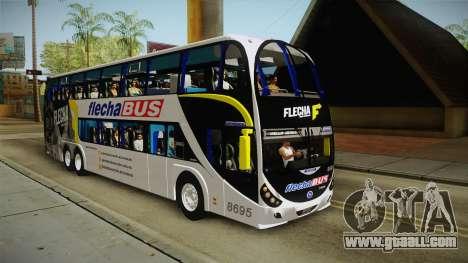 Starbus 2 Flecha Bus Egresados for GTA San Andreas right view
