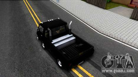Dodge A100 Pickup for GTA San Andreas back view