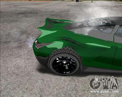 Insane car crashing mod for GTA San Andreas third screenshot