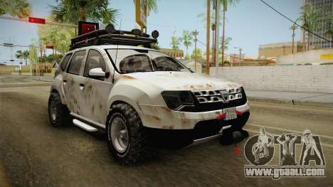 Dacia Duster Mud Edition for GTA San Andreas back left view