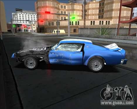 Insane car crashing mod for GTA San Andreas