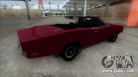 Dodge Charger RT Cabrio for GTA San Andreas