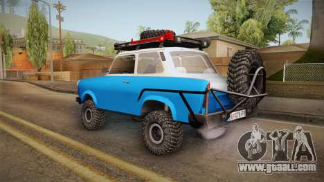 Trabant 601 4x4 Off Road for GTA San Andreas left view