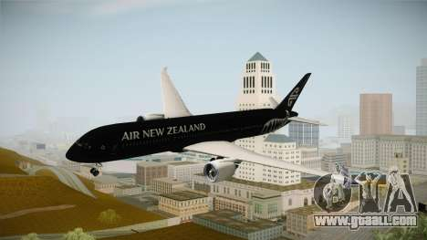 Boeing 787 Air New Zealand Black Edition for GTA San Andreas