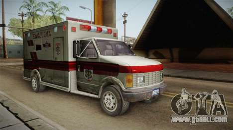 Resident Evil - Ambulance for GTA San Andreas right view