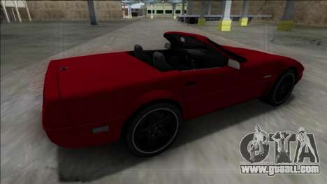 1996 Chevrolet Corvette C4 Cabrio for GTA San Andreas left view