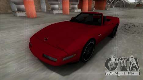 1996 Chevrolet Corvette C4 Cabrio for GTA San Andreas