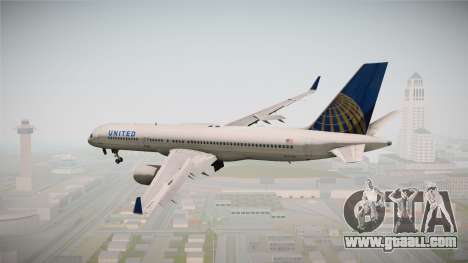 Boeing 757-200 United Airlines for GTA San Andreas