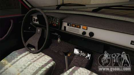 Dacia 1310 TX 1985 for GTA San Andreas inner view