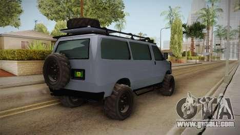 GTA 5 Bravado Rumpo Custom for GTA San Andreas right view