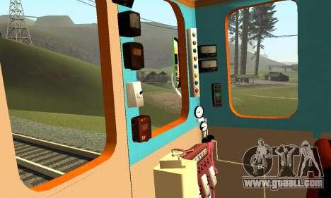 ST_M Metrovagon type Hedgehog for GTA San Andreas