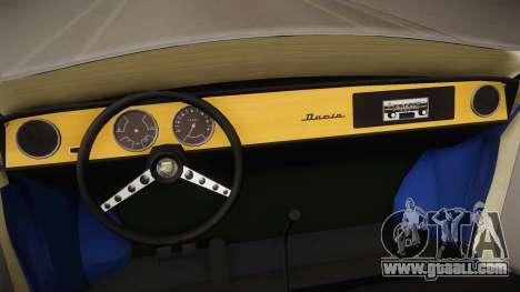 Renault Gordini for GTA San Andreas inner view