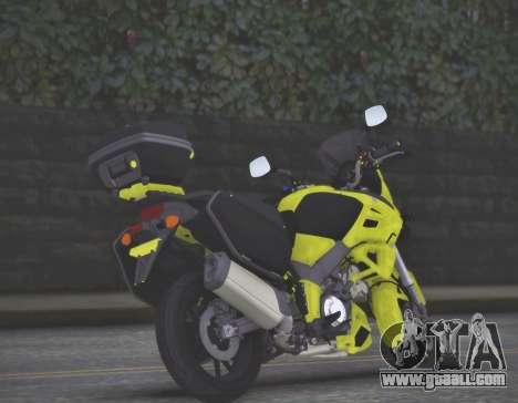 SUZUKI V-STROM 1000 for GTA San Andreas left view