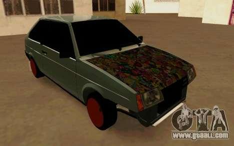 VAZ 2108 Tramp for GTA San Andreas