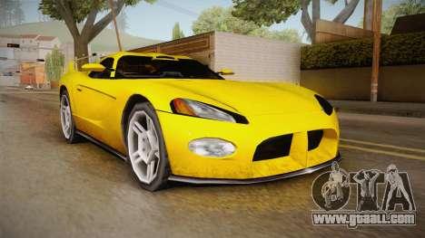 Jersey XS SA Style for GTA San Andreas