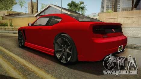 GTA 5 Bravado Buffalo 2-doors Coupe IVF for GTA San Andreas left view