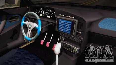 Fiat Regata 1.6 for GTA San Andreas inner view