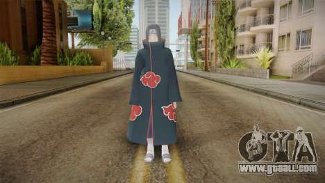 NUNS4 - Itachi Akatsuki for GTA San Andreas second screenshot