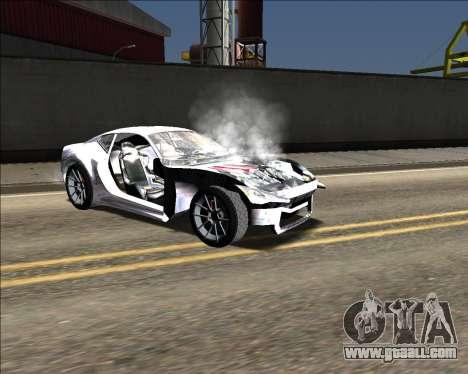 Insane car crashing mod for GTA San Andreas eleventh screenshot