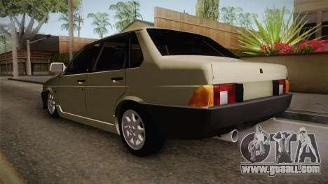 Fiat Regata 1.6 for GTA San Andreas back left view
